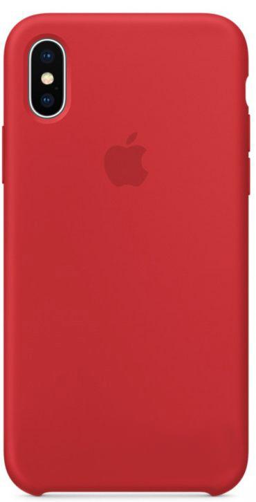 Чехол Apple Silicone Case iPhone X Red_HC