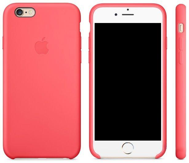 Чехол Apple Silicone Case Apple iPhone 6 Plus, iPhone 6S Plus Apricot (MM6F2)
