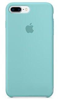 Чехол Apple Silicone Case Apple iPhone 7 Plus Sea Blue (MMQY2)