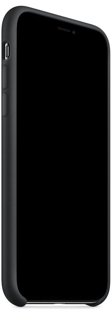Чехол Apple Silicone Case iPhone X Black (MQT12)