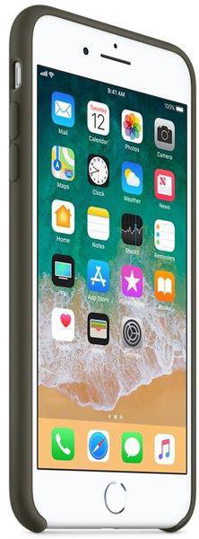 Чехол Apple iPhone 7 Plus, 8 Plus Silicone Case Dark Olive (MR3Q2_HC)