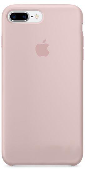 Чехол Apple Silicone Case iPhone 7 Plus, iPhone 8 Plus Pink Sand (MQH22)