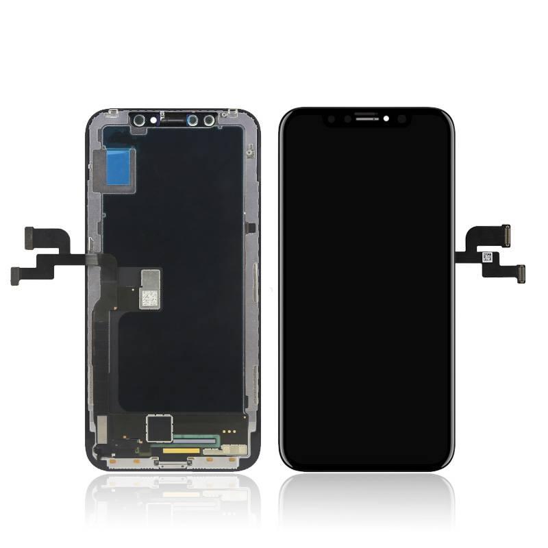 Дисплей iPhone X черный (LCD экран, тачскрин, стекло в сборе)