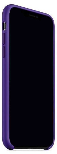 Чехол Apple Silicone Case iPhone X Ultra Violet (MQT72)