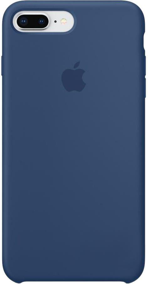 Чехол Apple iPhone 8 Plus Silicone Case Blue Cobalt (MQH02)