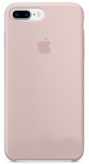 Чехол Apple Silicone Case iPhone 7 Plus Pink Sand (MMT02)