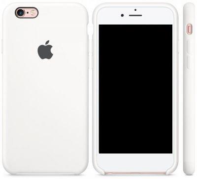 Чехол Apple Silicone Case iPhone 6 Plus, iPhone 6S Plus White (MKXK2)