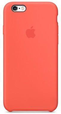 Чехол Apple Silicon Case iPhone 6, iPhone 6S Apricot Light_HC