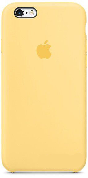 Чехол Apple Silicone Case iPhone 6, iPhone 6S Gold_HC