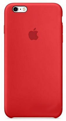 Чехол Apple Silicone Case iPhone 6 Plus, iPhone 6S Plus Red_HC