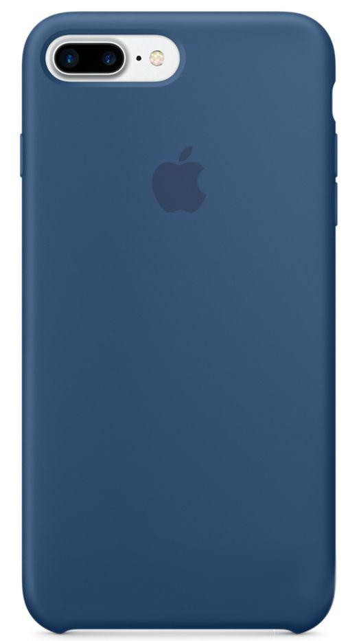 Чехол Apple Silicone Case iPhone 7 Plus Ocean Blue (MMQX2)