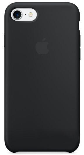 Чехол Apple Silicone Case iPhone 7, iPhone 8 Black (MMW82_HC)