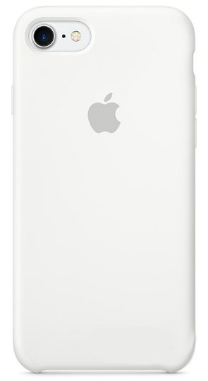 Чехол Apple Silicone Case iPhone 7, iPhone 8 White (MMWF2)