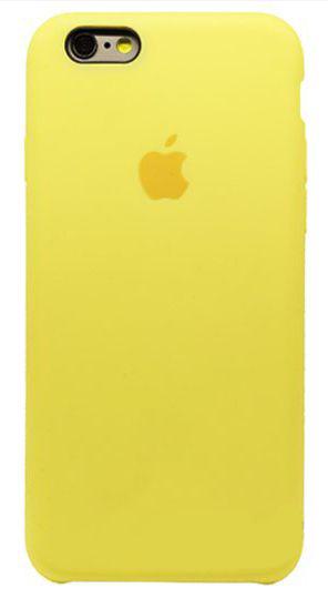 Чехол Apple Silicone Case Apple iPhone 6, iPhone 6S Yellow_HC