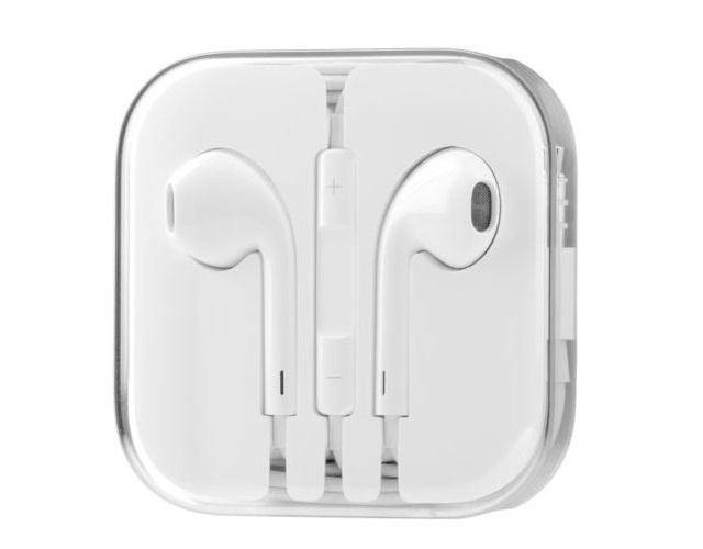 Наушники EarPods (гарнитура) iPhone, iPad, MacBook белые